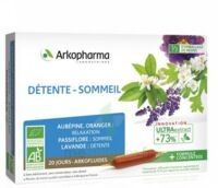 Arkofluide Bio Ultraextract Solution buvable détente sommeil 20 Ampoules/10ml à Talence